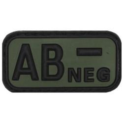 Guminis antsiuvas kraujo grupė, AB NEG