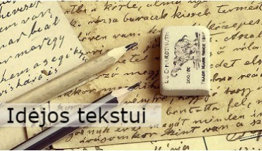 Idėjos tekstui
